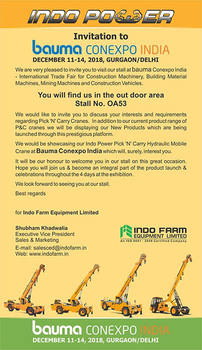 Indo Farm: Take advantage of our best farm equipment